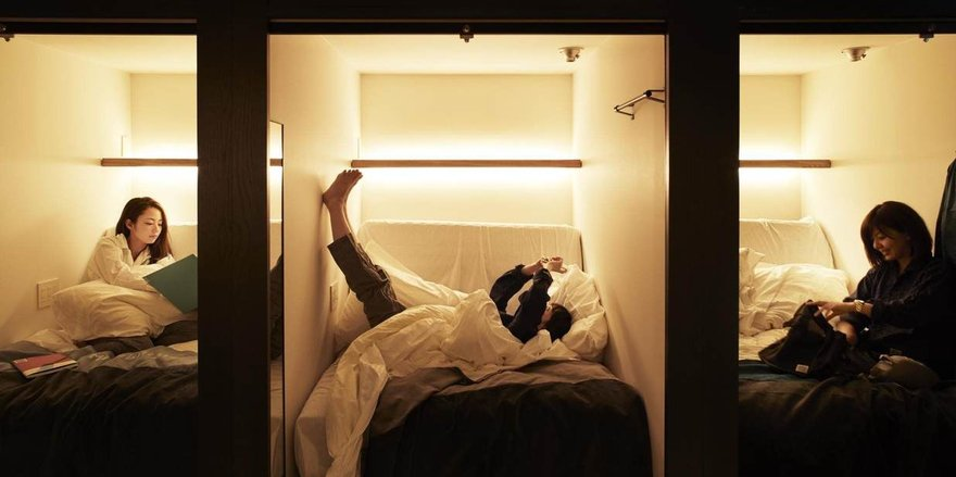 "Asia is known for its pricey hotel rates, making capsule hotels a welcome alternative for both domestic and international travelers. Capsule hotel prices tend to run for about $50 per night, plus ""nap rates"" are charged by the hour."