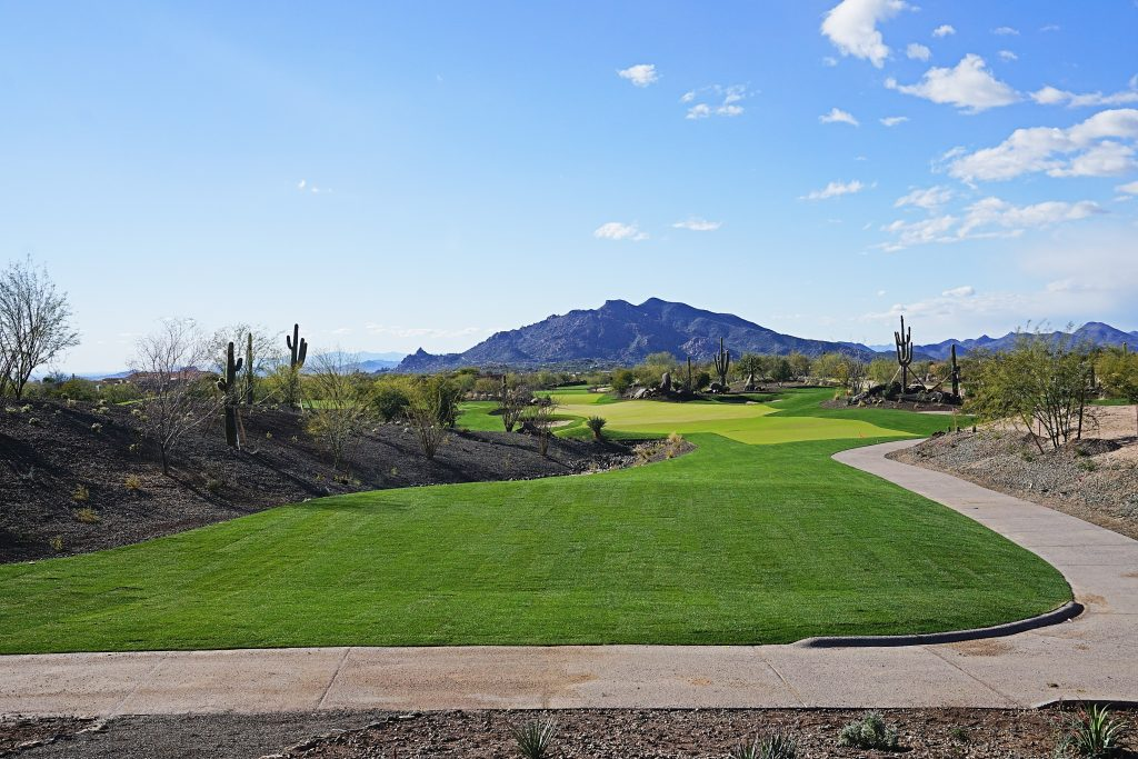 "Another project that will draw plenty of attention this year is located in the golf mecca of Scottsdale, Arizona. The Desert Mountain Club is a private community that features six Jack Nicklaus Signature courses and is now opening an 18-hole, par-3 layout fittingly called ""Seven."" The club broke ground on the unique course in December 2017 and plans to open early this year."