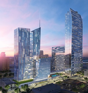 Big news from the City of Angels today, where L.A. Live/Staples owner AEG is planning a $500-million expansion of the J.W. Marriott/Ritz-Carlton hotel downtown that will add 755 rooms.