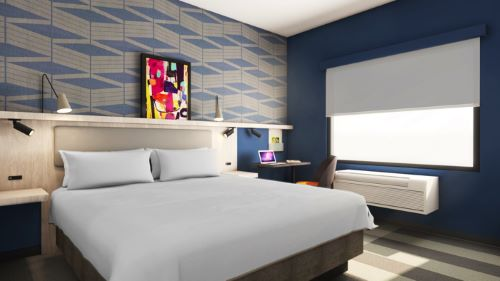 Radisson Hotel Group yesterday announced at its Americas Business Conference in Miami, Fla. the all new look and feel of Park Inn by Radisson. As part of the conference, the company revealed its new prototype model room for the brand. The new contemporary design targeted at the upper midscale market provides comfort while maximizing space within a compact footprint