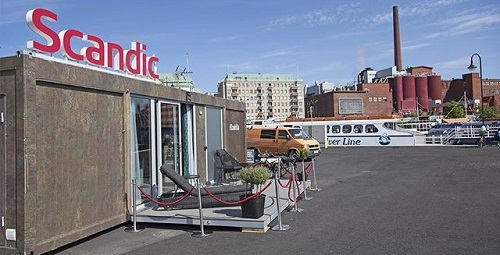 franchise hotels for sale.  Scandic to Go