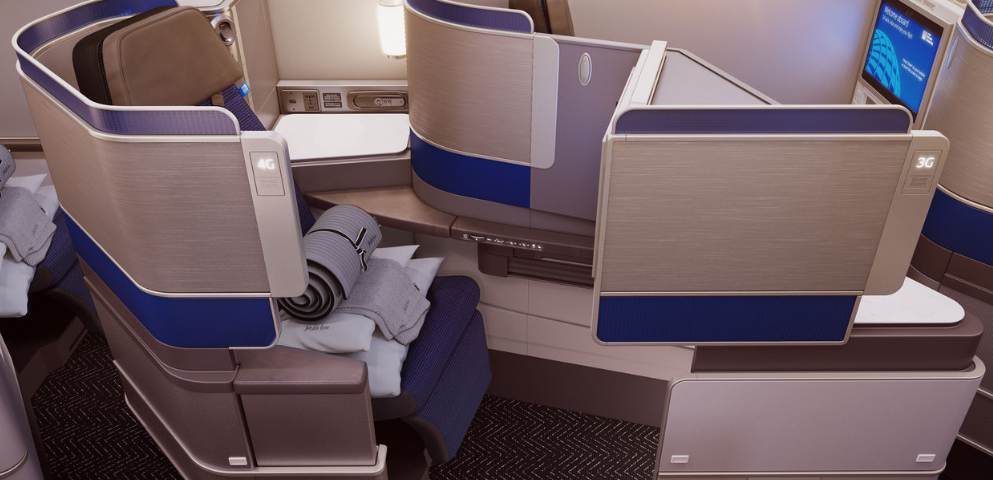 United Airlines Reveals the New Polaris Business Class